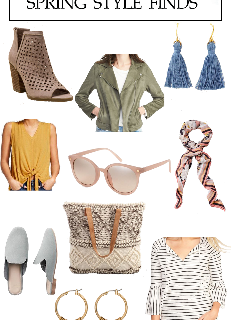 Affordable Spring Style – Muted Palette