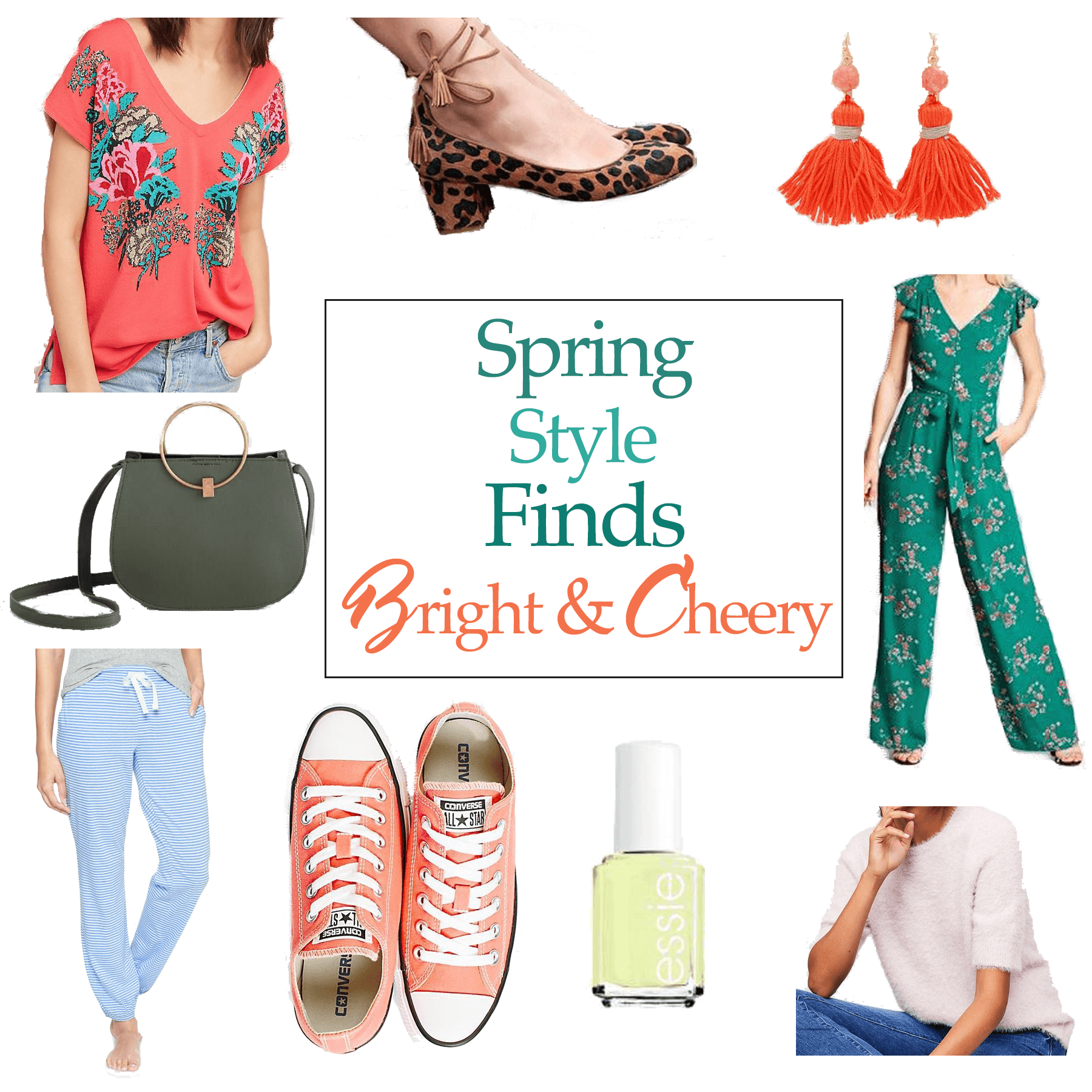 colorful spring style board