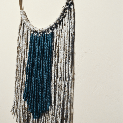 DIY wall hanging, DIY macrame, texture, boho decor