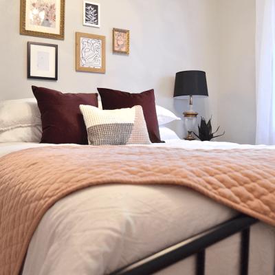 eclectic parisian bedroom, girls bedroom, feminine bedroom, modern bedroom,