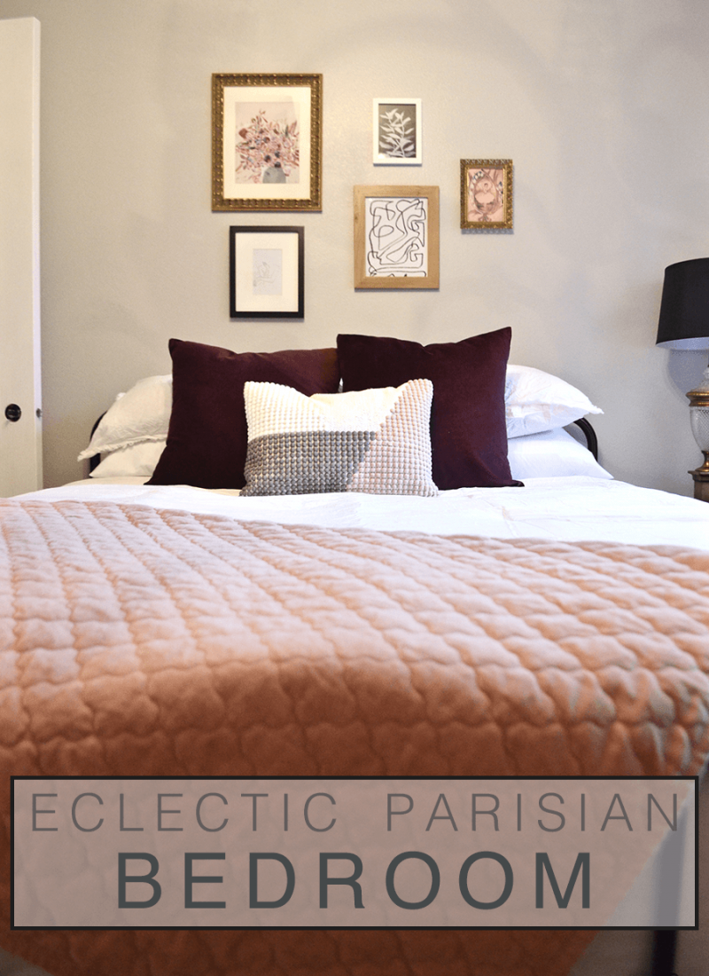 Eclectic Parisian Bedroom Reveal – Project Sheridan