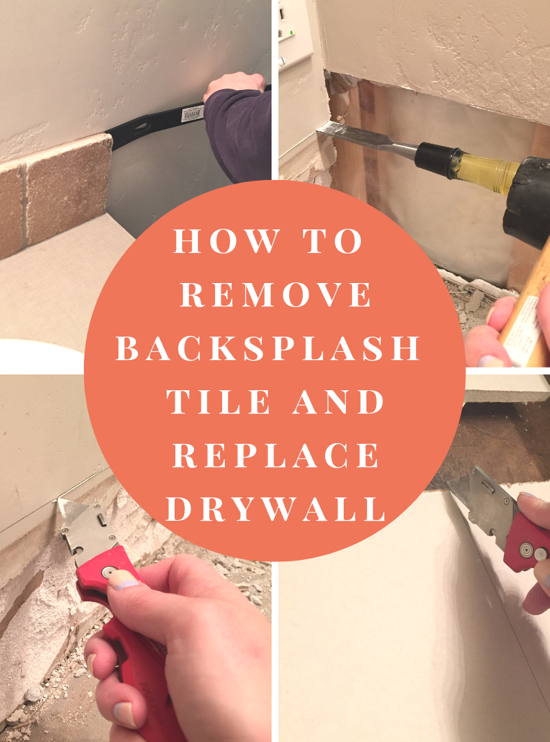 How to remove backsplash tile and replace drywall – ORC Week 2