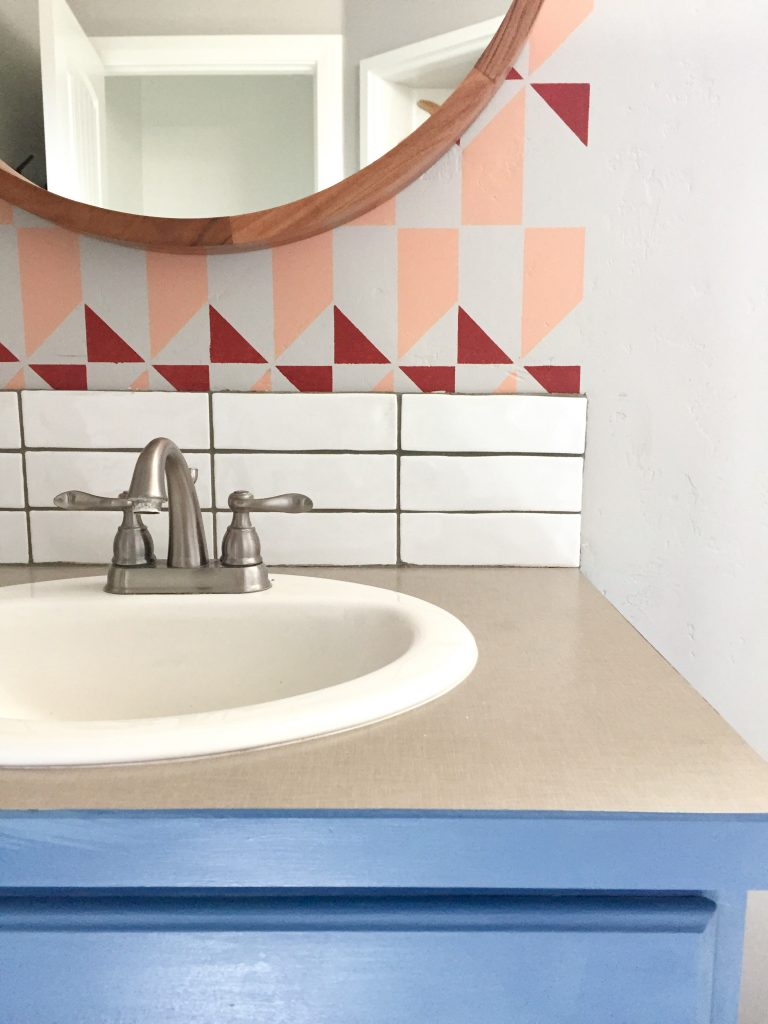 how to install backsplash tile